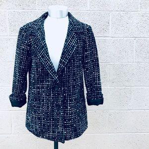 Urban Outfitters Black tweed blazer